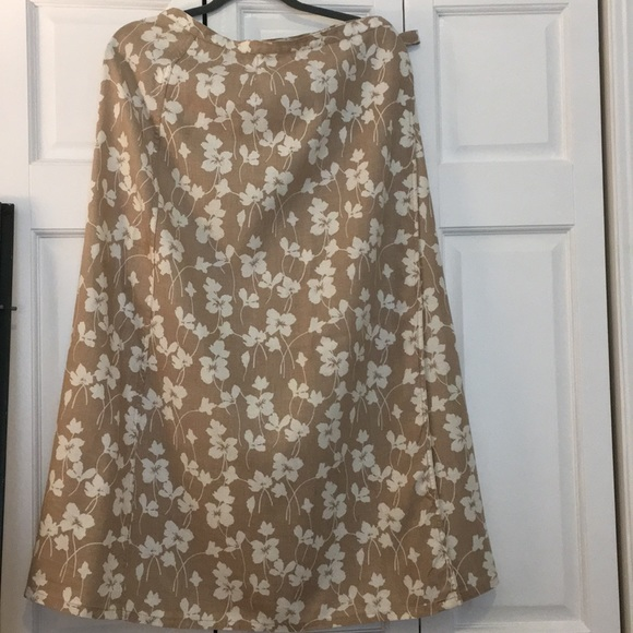 Liz Claiborne Dresses & Skirts - Liz Claiborne Wrap Around Long Skirt